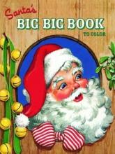 Golden Books Santa`s Big Big Book to Color