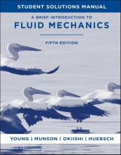 Young, Donald F. Student Solutions Manual to accompany A Brief Introduction to Fluid Mechanics, 5e