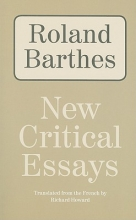 Barthes, Roland New Critical Essays