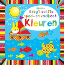 , Baby`s allereerste speel- en voelboek - Kleuren