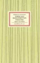 Kleist, Heinrich Von Über das Marionettentheater