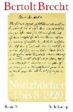 Brecht, Bertolt Notizbcher 02