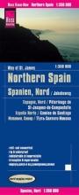 , Reise Know-How Landkarte Spanien Nord/Jakobsweg 1 : 350.000