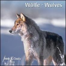 Wölfe Wolves 2019 Trends & Classics Kalender