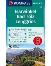 Kompass-Karten Gmbh , Isarwinkel, Bad Tölz, Lenggries 1:50 000