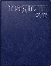 Buchkalender magnum 2018 Catana blau