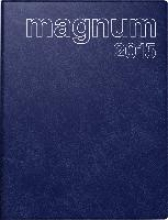 Buchkalender magnum 2017 PVC blau