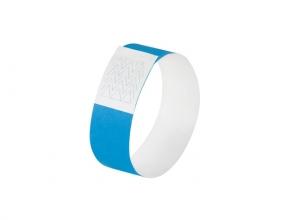 , evenementenbandjes Sigel super soft, 255x25mm 520 stuks     neon blauw