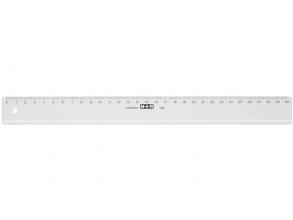 , Liniaal M+R 1130 300mm plastic transparant
