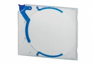 , Cd opbergbox Quickflip standaard blauw 5stuks