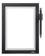 , Duraframe Durable 499401 Note A5 zelfklevend zwart