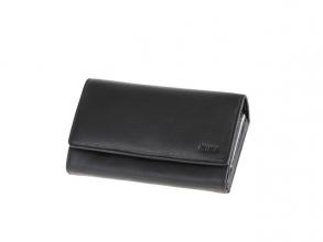 , Portefeuille Mika zwart RFID dame 20x11,5x5cm