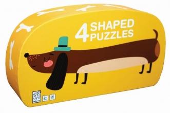 , Deco puzzel hond