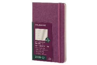 MOLESKINE 2017 MOLESKINE GRAPE VIOLET LARGE WEEKLY