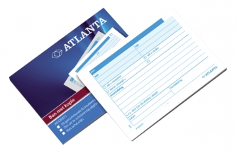 , Bonboekje Atlanta A6 50x3vel