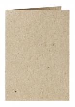 , Correspondentiekaart Papicolor dubbel 105x148mm Kraft grijs