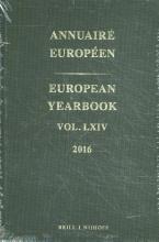 , Annuaire Européen vol. LXIV 2016