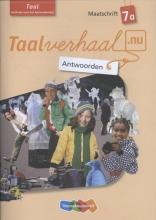 Hetty van den Berg, Tamara van den Berg, Jannie van Driel-Copper, Irene  Engelbertink Taal 7A Antwoorden maatschrift