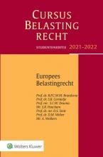 , Cursus Belastingrecht Europees belastingrecht 2021-2022