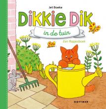 Jet  Boeke Dikkie Dik in de tuin