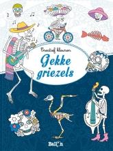 Marty  Noble Creatief kleuren Gekke griezels