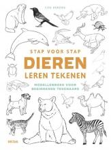 Lise HERZOG , Stap voor stap dieren leren tekenen