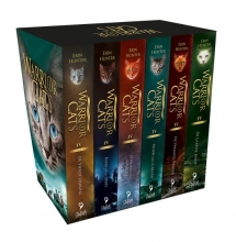 Erin Hunter , Warrior Cats - Serie 4 Cadeaubox met 6 paperbacks