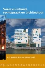, Vorm en inhoud, rechtspraak en architectuur
