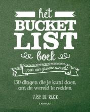 Elise De Rijck , Het Bucketlist boek voor een groene wereld