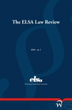 , The ELSA Law Review