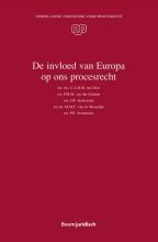 J.W. Hoekzema P.M.M. van der Grinten  M.M.C. van de Moosdijk  C.A.H.M. ten Dam  F.E. Vermeulen, De invloed van Europa op ons procesrecht