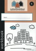 Marion van de Coolwijk , LetterKlankStad 1 beginnend lezen met resultaat Werkboek