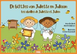 Heinrich Walgraeve Peter De Clerk, De bijtjes van Juliette en Juliaan kamishibai vertelplaten