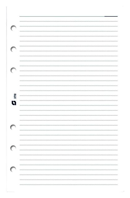 ,Notitiepapier Succes Mini gelinieerd wit