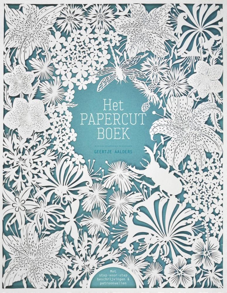 Geertje Aalders,Het papercutboek