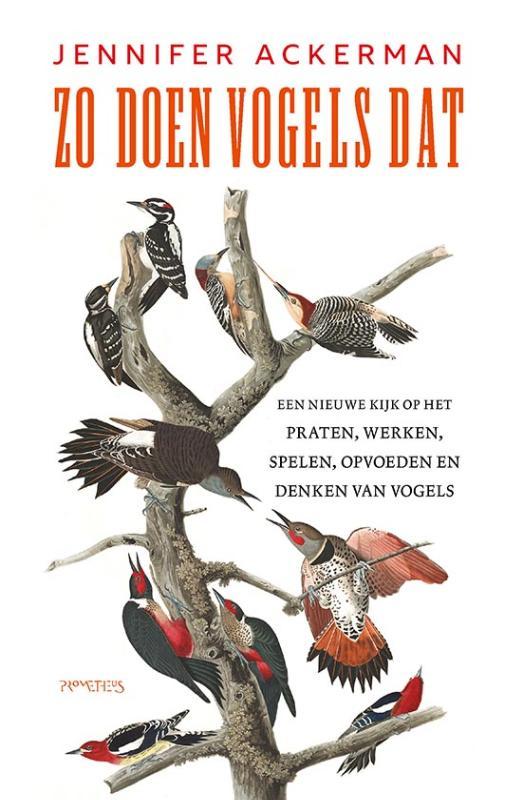 Jennifer Ackerman,Zo doen vogels dat