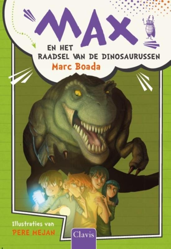 Marc Boada,Max en het geheim van de dinosaurussen