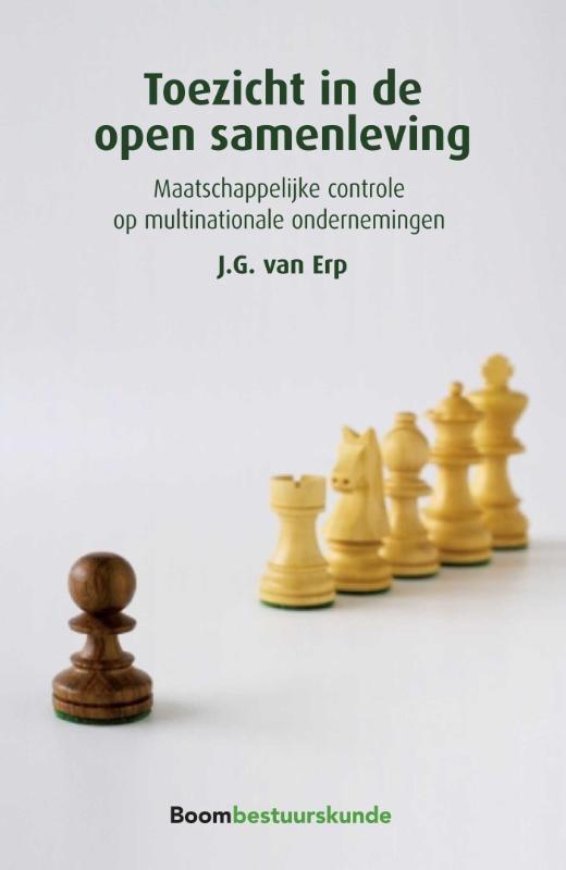 J.G. van Erp,Toezicht in de open samenleving