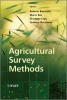 Benedetti, Roberto,Agricultural Survey Methods