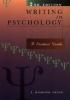 Smyth, T. Raymond,Writing in Psychology