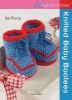 Pierce, Val,Knitted Baby Bootees