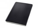 ,Notitieblok Sigel CONCEPTUM hardcover A4 zwart gelinieerd   incl. register