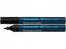 ,Viltstift Schneider 230 rond zwart 1-3mm