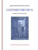 Johann Wolfgang Von Goethe,Goethes erotica