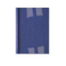 , Thermische omslag GBC A4 3mm linnen donkerblauw 100stuks