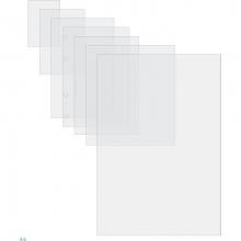 , Lamineerhoes GBC A2 2x125micron 50stuks