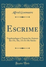 Goemaere, Alfred Escrime