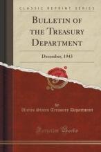 Department, Unites States Treasury Bulletin of the Treasury Department