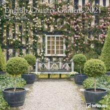, Maandkalender 2021 30x30 english country gardens