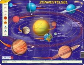*LARSEN PUZZEL - ZONNESTELSEL - SS1